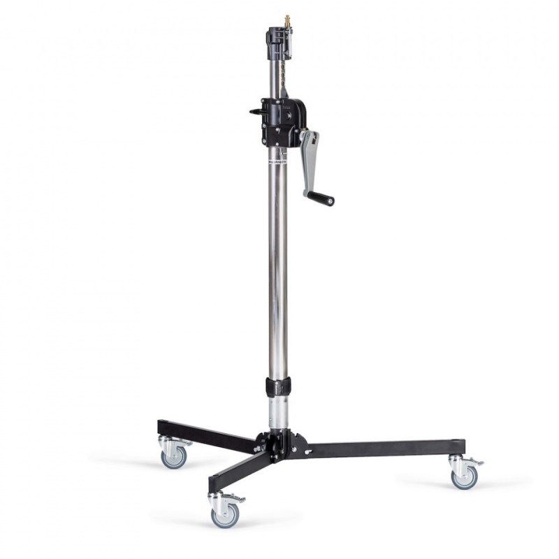 manfrotto steel 2 s low base wind up stand 083nwlb