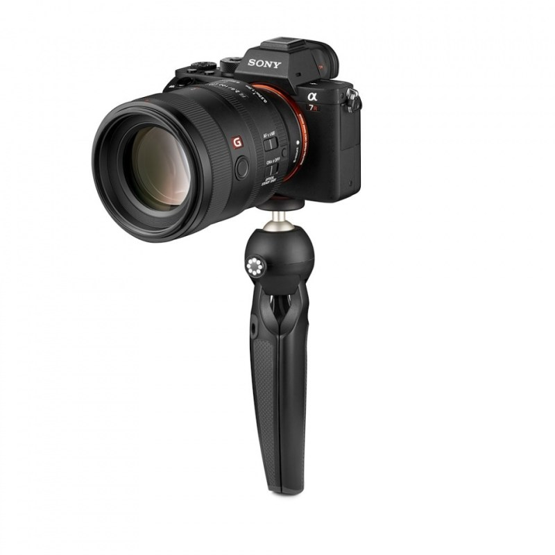 mini tripod joby handypod jb01555 bww closed with camera