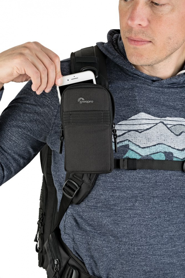 phone pouch protactic phone pouch lp37225 on backpack strap remove rgb