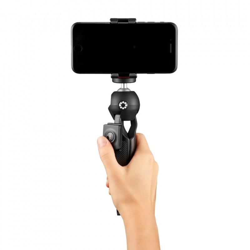 phone tripod joby handypod mobile jb01564 bww with hand shooting forward