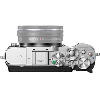 Olympus PEN E P7 Digital Camera Body Silver product image 4