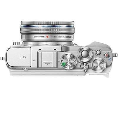 Olympus PEN E P7 Digital Camera with 14 42mm Lens White 3