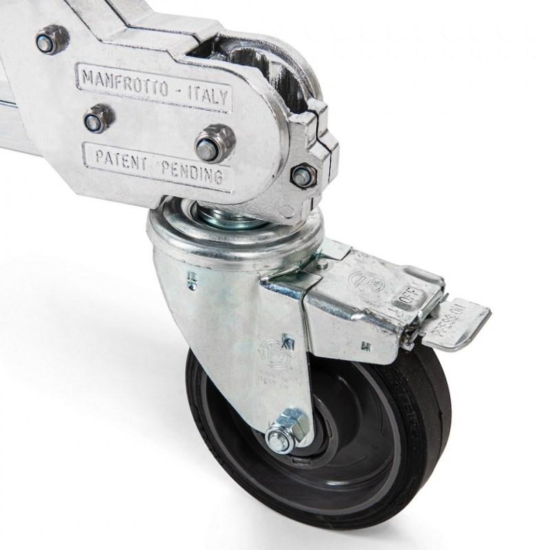 avenger strato safe stand 4 riser with braked wheels universal 03 1