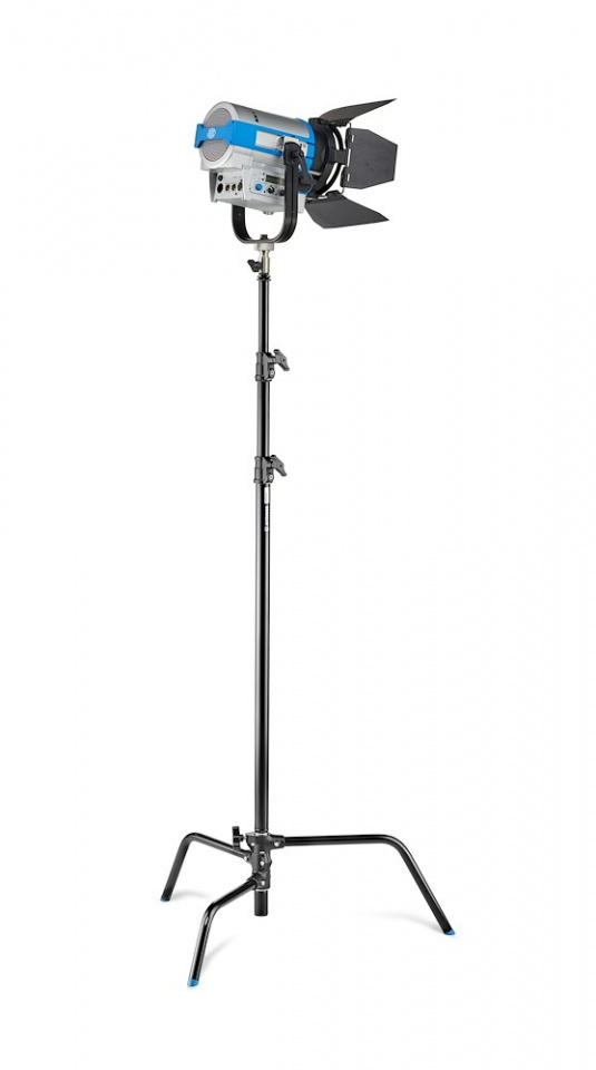 c stands c stand kit 30 with detacheable base black finish a2030dcb w light
