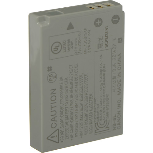 Canon 1135B001 NB 5L Lithium Ion Battery 3 7v 1404138037 425695