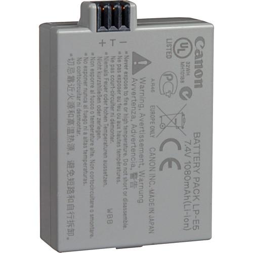Canon 3039B001 LP E5 Rechargeable Lithium Ion Battery 1479401443 547868