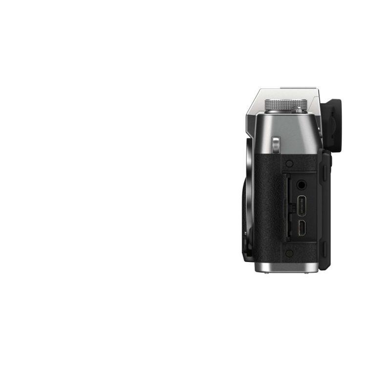 X T30Ⅱ side USB open silver min scaled