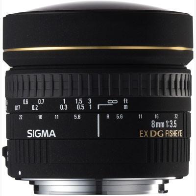 Sigma 8mm f3.5 EX DG FishEye Lens