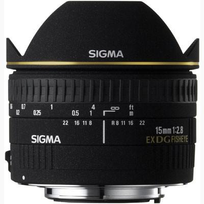 Sigma 15mm f2.8 EX DG Fisheye Lens
