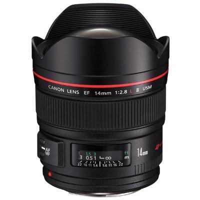 Canon EF 14mm f2.8 L II USM Lens