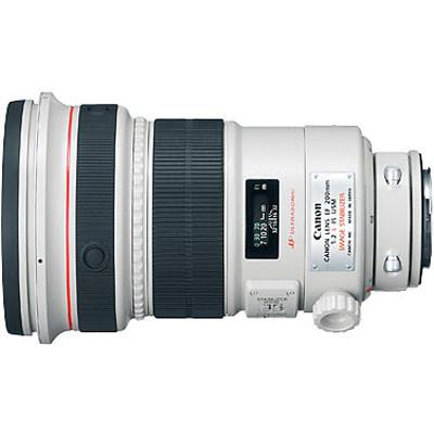 Canon EF 200mm f2.0 L IS USM Lens