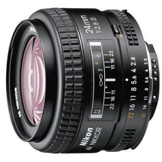 Nikon 24mm f2.8 D AF Lens