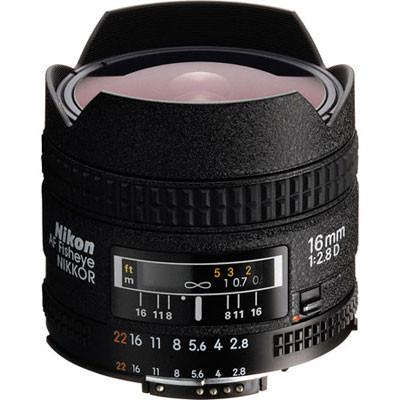 Nikon 16mm f2.8 D AF Fisheye Lens
