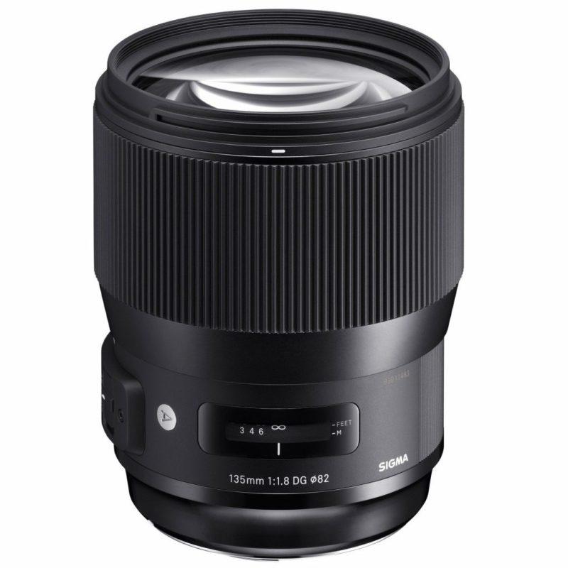 Sigma 135mm F1.8 DG HSM Art Lens