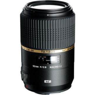Tamron 90mm f2.8 SP Di USD VC Macro Lens