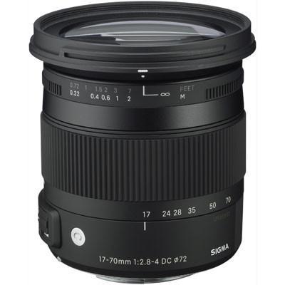Sigma 17-70mm f2.8-4 DC Macro OS HSM Lens