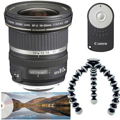 Canon EF-S 10-22mm f3.5-4.5 USM Lens - Landscape Kit