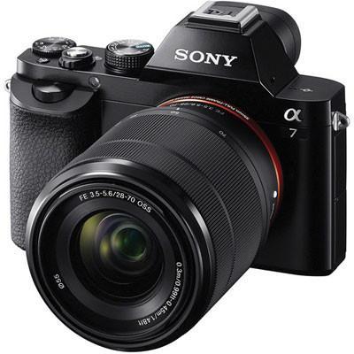 Sony Alpha A7 Digital Camera with 28-70mm Lens