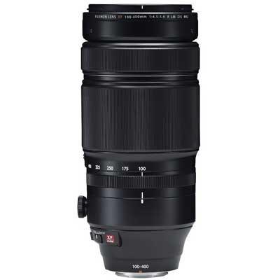 Fuji 100-400mm f4.5-5.6 R LM OIS WR Fujinon Lens with 1.4X Teleconverter