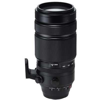 Fuji 100-400mm f4.5-5.6 R LM OIS WR Fujinon Lens with 1.4X Teleconverter