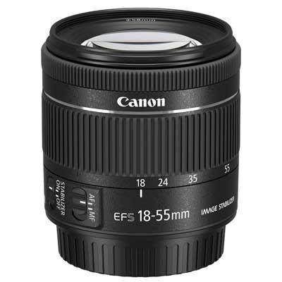 Canon EF-S 18-55mm f4-5.6 IS STM Lens