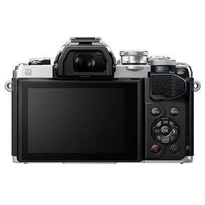 Olympus OM-D E-M10 Mark III Digital Camera Body - Silver