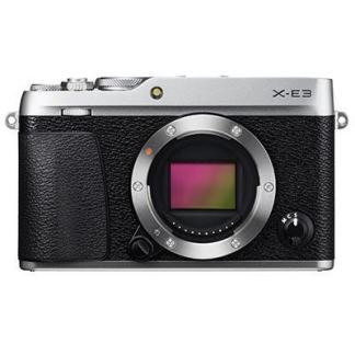 Fujifilm X-E3 Digital Camera Body - Silver