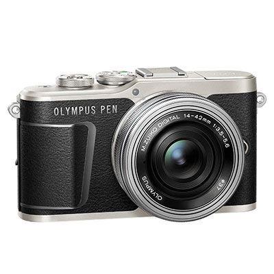 Olympus Pen E-PL9 Digital Camera with 14-42mm Lens - Black
