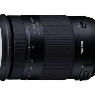 Tamron 18-400 f/3.5-6.3 Di II VC HLD Nikon & Canon fit.