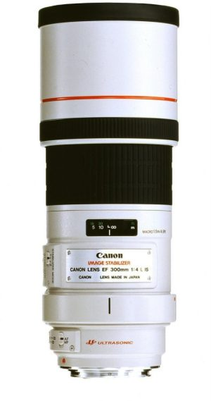 Canon EF 300mm f/4.0L Image Stabilised USM