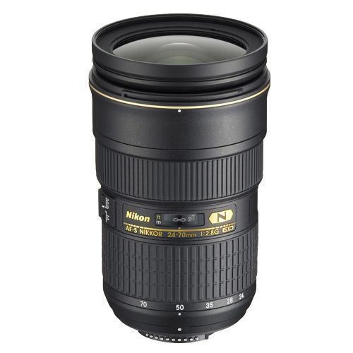 Nikon 24-70mm f/2.8G ED AF-S NIKKOR Lens