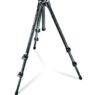 Manfrotto 294 Carbon Fiber Kit, Tripod 3 sections with Ball Head QR