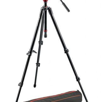 Manfrotto - Lightweight fluid video system / aluminum legs / MDeVe