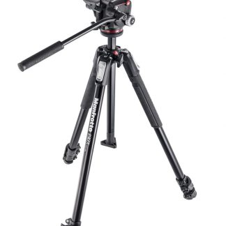 Manfrotto 190X kit - alu 3-section tripod + MHXPRO-2W fluid head