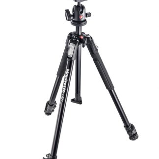 Manfrotto 190X kit - alu 3-section tripod + 496RC2 ball head
