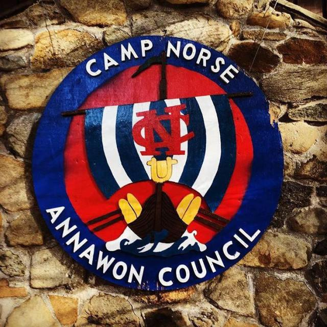 Camp Norse Sign