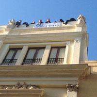Trapani: dipendenti Megaservice, stop a protesta sul tetto palazzo della Provincia