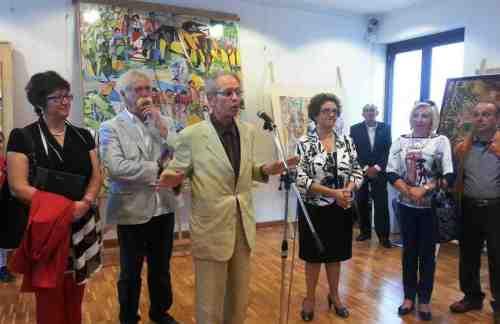 Mazara, inaugurata la mostra del maestro Vito Gallo