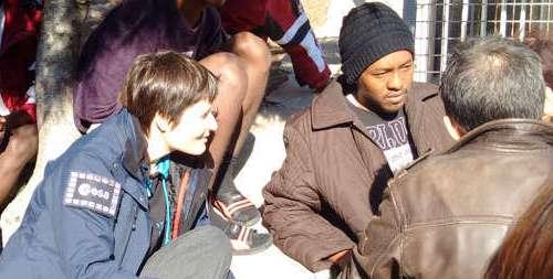 [VIDEO] Lampedusa, visita dell'astronauta e ambasciatrice Unicef Samantha Cristoforetti