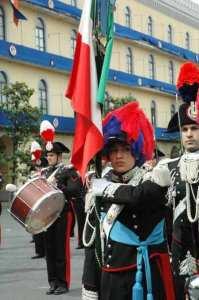 carabinieri alfiere donna