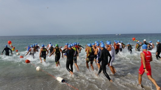 partenza Triathlon