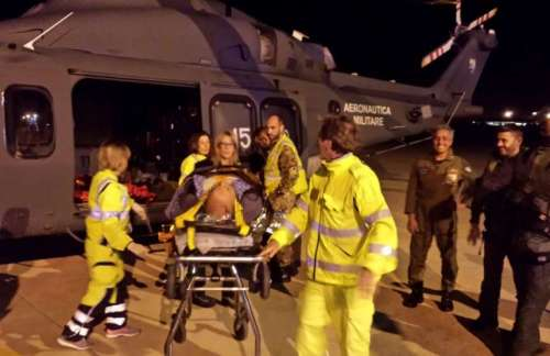 Trapani, disperso per 24 ore su una montagna: recuperato dall'elicottero dell'Aeronautica
