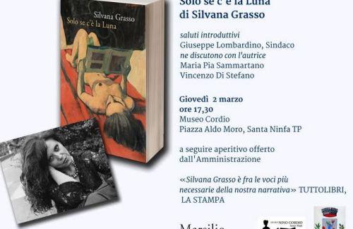 [Libri] Santa Ninfa: Si presenta l'ultimo romanzo di Silvana Grasso