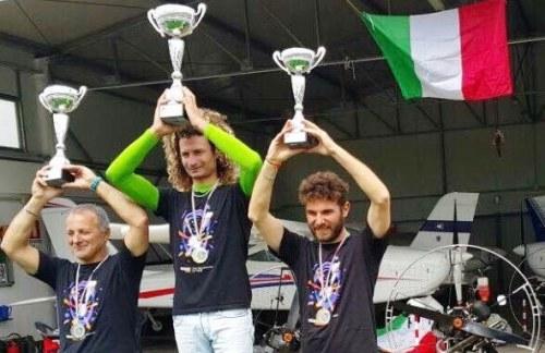 Santa Ninfa: Pasquale Biondo si riconferma campione nazionale di paramotore