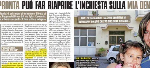 """Denise Pipitone, la mamma non si arrende: """"Un'impronta potrebbe riaprire il caso"""""""