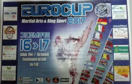 [Arti Marziali] Eurocup 2017: oltre 400 atletiprovenienti da 13 nazioni a Castellammare del Golfo