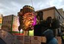 [Carnevale] Marsala. Rovinata dalla pioggia la sfilata dei due carri