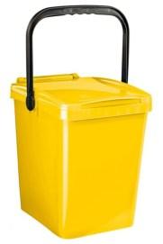 contenitore giallo raccolta carta 2