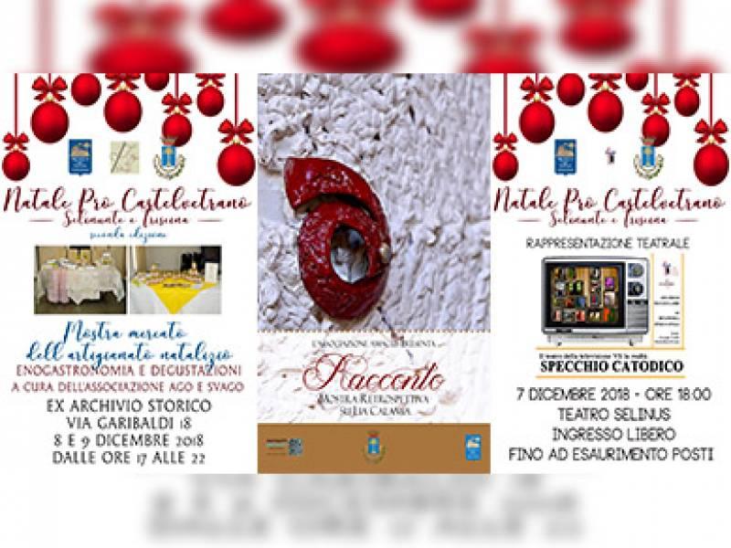 """""""Natale Pro Castelvetrano, Selinunte, Triscina - II Edizione"""" – Gli appuntamenti dal 15 al 16 Dicembre"""