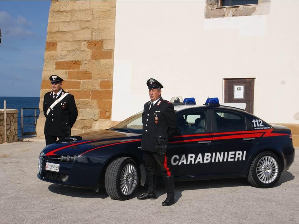 Trapani. Controlli dei Carabinieri nel weekend:3 arresti